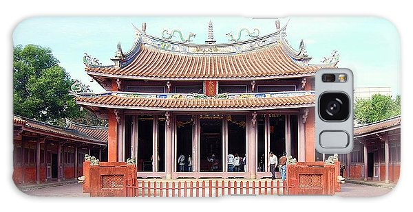 Galaxy Case featuring the photograph Tainan Confucian Temple by HweeYen Ong