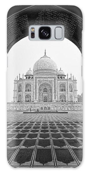 Taj Mahal - Bw Galaxy Case by Stefan Nielsen