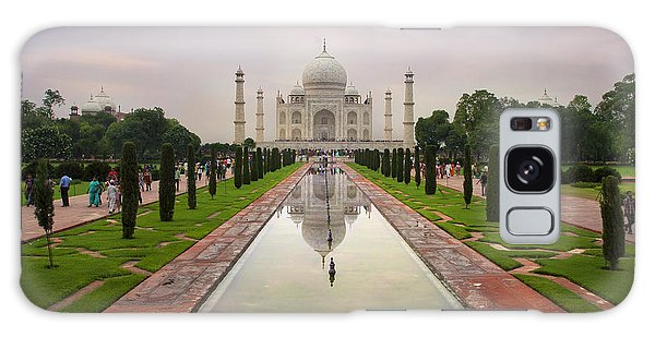 Taj Mahal At Sundown Galaxy Case