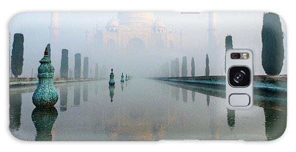 Taj Mahal At Sunrise 01 Galaxy Case