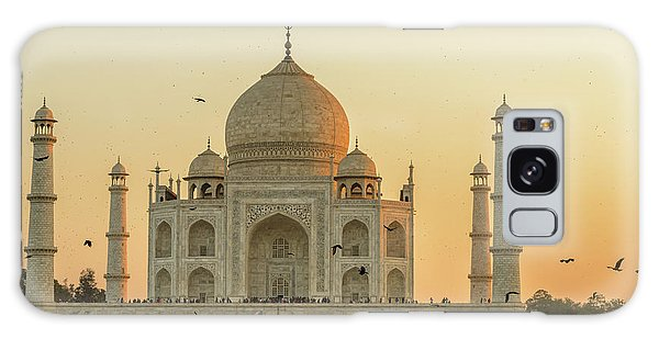 Taj Mahal At Sunset 01 Galaxy Case