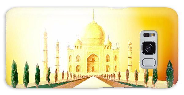 Taj  Mahal Galaxy Case by Hartmut Jager