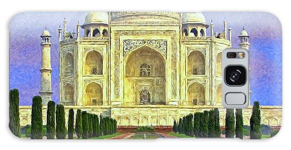 Taj Mahal Morning Galaxy Case