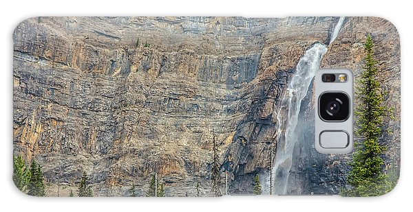 Galaxy Case featuring the photograph Takakkaw Falls 2009 by Jim Dollar