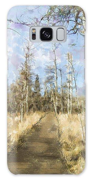 Take A Walk Galaxy Case by Annette Berglund