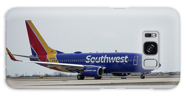 Take Off Southwest Airlines N7878a Hartsfield-jackson Atlanta International Airport Art Galaxy Case
