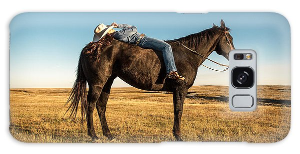 Magazine Cover Galaxy Case - Taking A Snooze by Todd Klassy