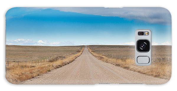 Galaxy Case featuring the photograph Taking The Back Road by Fran Riley