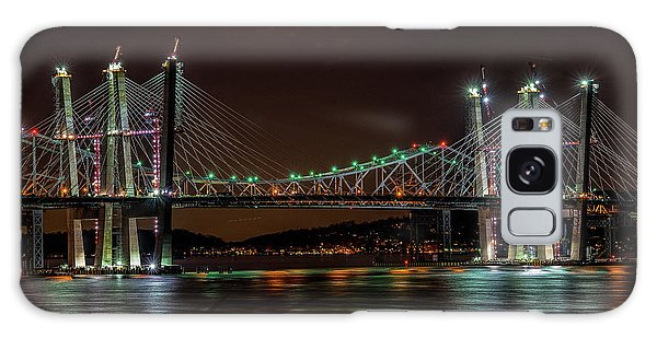 Tale Of 2 Bridges At Night Galaxy Case