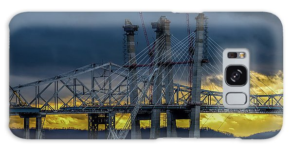 Tale Of 2 Bridges At Sunset Galaxy Case