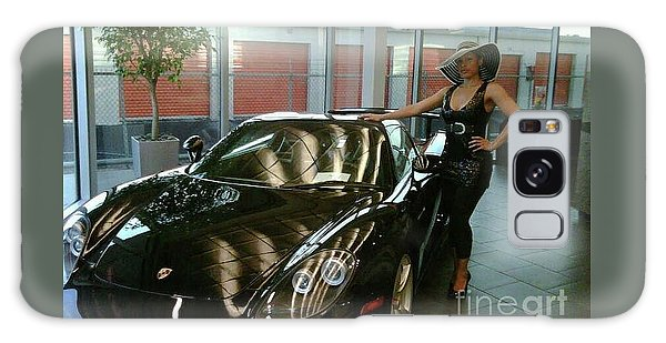 Talisa Hartleys Sports Cars And Big Muscles Galaxy Case