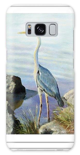 Tall Fellow Art Card Galaxy Case by Harriett Masterson