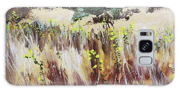 Tall Grass. Late Summer Galaxy Case