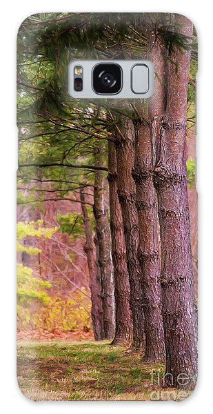 Tall Pines Standing Guard Galaxy Case