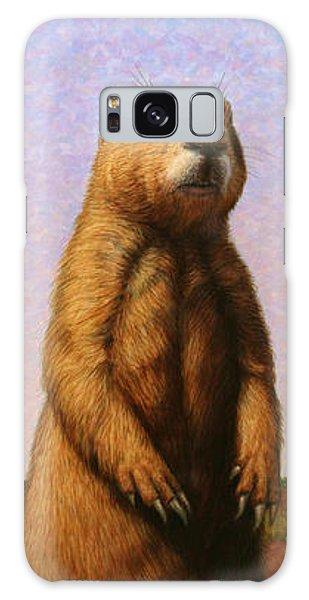 Groundhog Galaxy Case - Tall Prairie Dog by James W Johnson