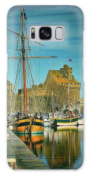 Tall Ship In Saint Malo Galaxy Case