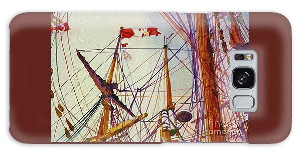 Tall Ship Lines Galaxy Case