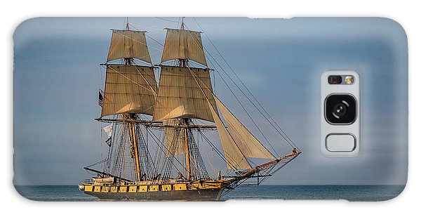 Tall Ship U.s. Brig Niagara Galaxy Case