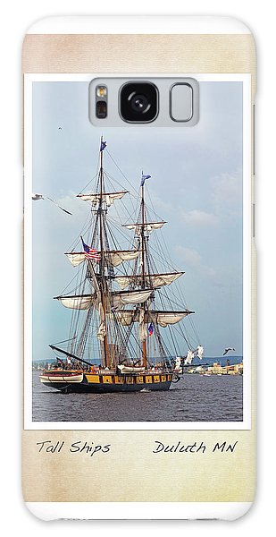 Tall Ships V1 Galaxy Case by Heidi Hermes
