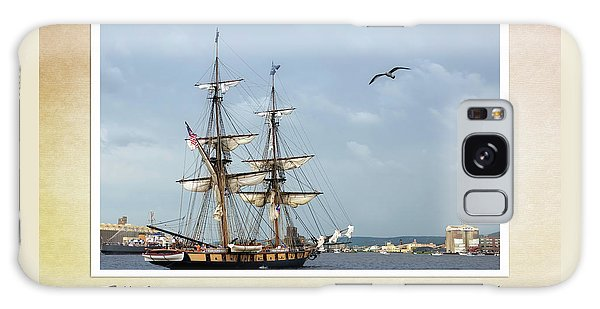 Tall Ships V3 Galaxy Case by Heidi Hermes
