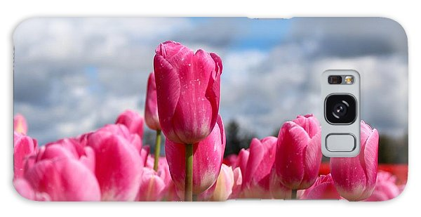 Tall Standing Tulip Galaxy Case