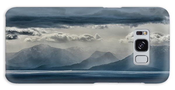 Tallac Stormclouds Galaxy Case