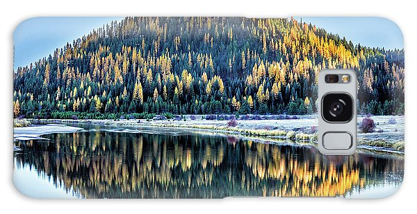 Tamarack Glow Idaho Landscape Art By Kaylyn Franks Galaxy Case