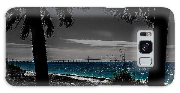 Tampa Bay Blue Galaxy Case