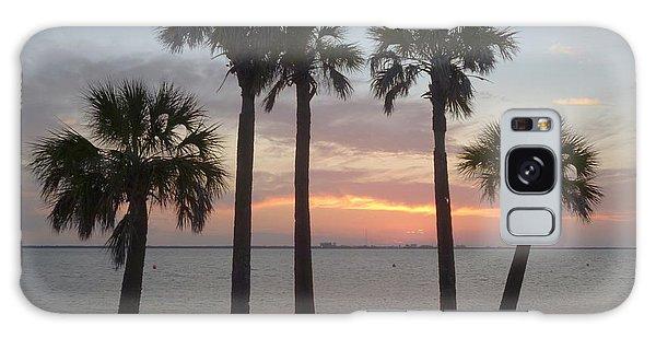 Tampa Bay Sunset Galaxy Case by Gail Kent