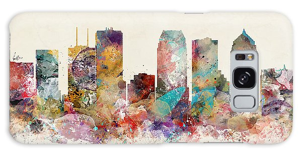 Florida Galaxy Case - Tampa Florida Skyline by Bri Buckley