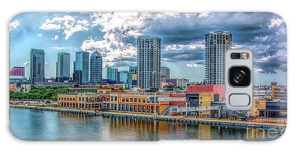 Tampa Florida Skyline Galaxy Case