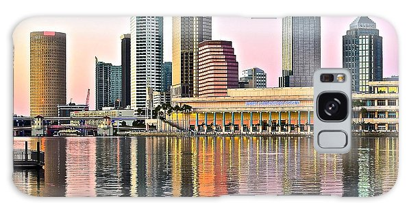Tampa In Vivid Color Galaxy Case by Frozen in Time Fine Art Photography