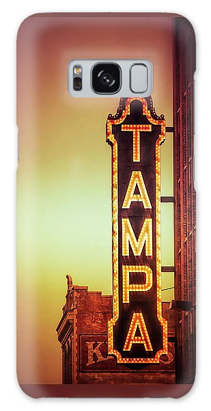 Galaxy Case featuring the photograph Tampa Theatre by Carolyn Marshall