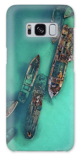 Tangalooma Wrecks Galaxy Case