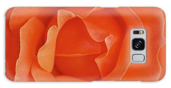 Tangerine Rose Galaxy Case