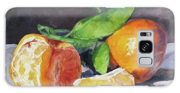 Galaxy Case - Tangerines by Irek Szelag