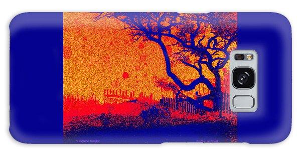 Tangerine Twilight Galaxy Case