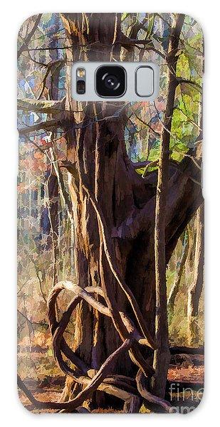 Tangled Vines On Tree Galaxy Case