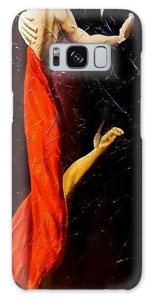 Tango Dancers #1 Galaxy Case