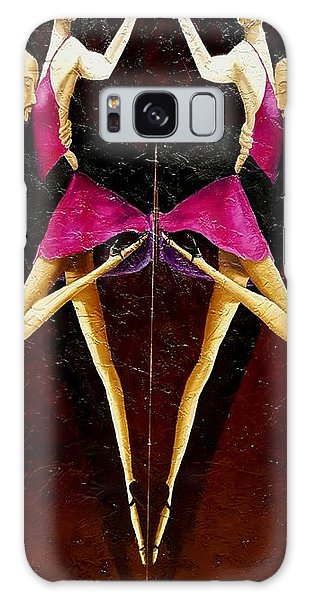 Tango Dancers #2 Galaxy Case
