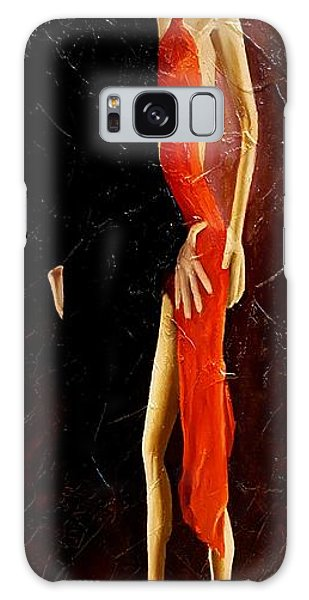 Tango Dancers #3 Galaxy Case