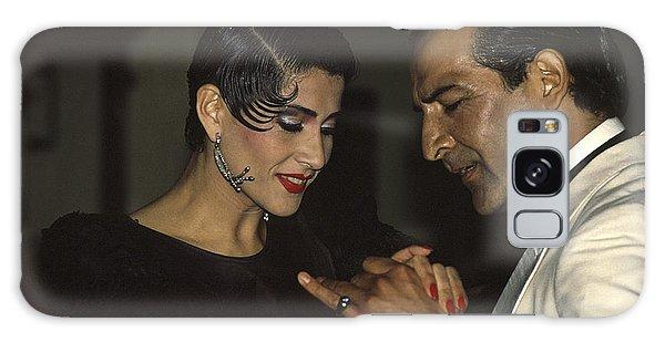 Tango Dancers Galaxy Case by Michael Mogensen