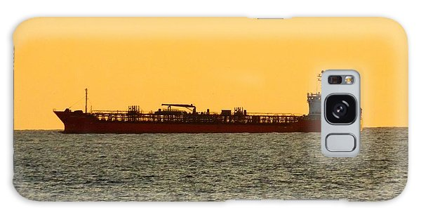 Tanker At Sunrise Galaxy Case