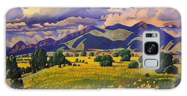 Taos Fields Of Yellow Galaxy Case