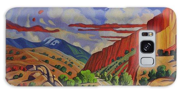 Taos Gorge Journey Galaxy Case