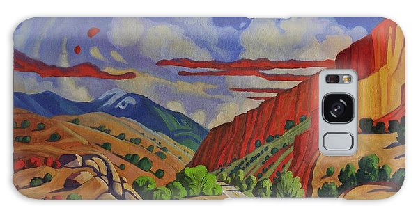 Taos Gorge Journey Galaxy Case