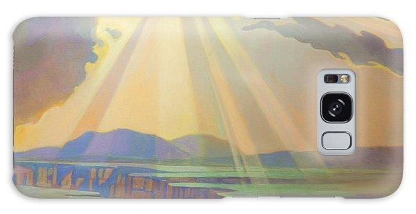 Taos Gorge God Rays Galaxy Case