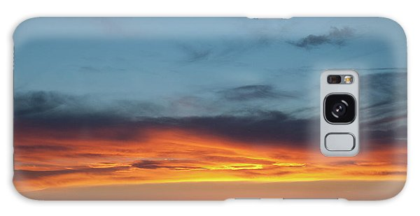 Taos Mesa Sunset Galaxy Case