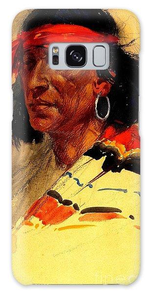 Taos Pueblo Indian Circa 1918 Galaxy Case