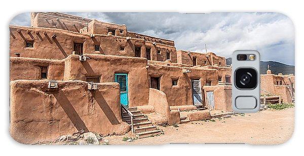 Taos Pueblo New Mexico Galaxy Case